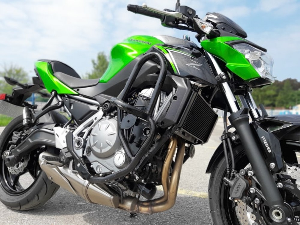 Nowy motor na kat A w OSK MX Kawasaki Z650 prosto z salonu :)